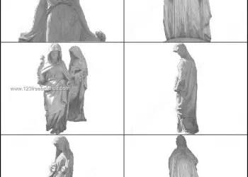 Virgin Mary Brushes Photoshop