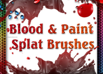 Blood and Paint Splat