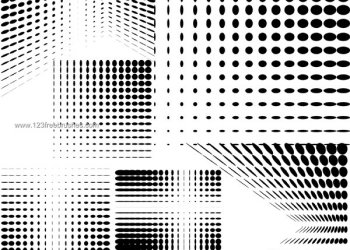 Halftone Photoshop Brushes Free Download