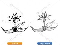 5003048-hand-drawn-sketch-flowers-vector-and-photoshop-brush-pack-01_p008