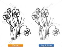 5003050-hand-drawn-sketch-flowers-vector-and-photoshop-brush-pack-03_p002