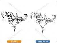 5003051-hand-drawn-sketch-flowers-vector-and-photoshop-brush-pack-04_p013