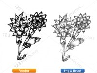 5003057-hand-drawn-sketch-flowers-vector-and-photoshop-brush-pack-10_p013