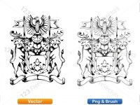 5012010-hand-drawn-sketch-heraldic-coat-of-arms-vector-and-brush-pack-01_p005