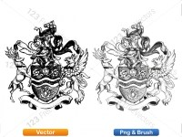 5012010-hand-drawn-sketch-heraldic-coat-of-arms-vector-and-brush-pack-01_p008