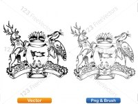 5012010-hand-drawn-sketch-heraldic-coat-of-arms-vector-and-brush-pack-01_p009