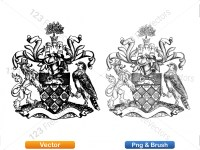 5012010-hand-drawn-sketch-heraldic-coat-of-arms-vector-and-brush-pack-01_p016
