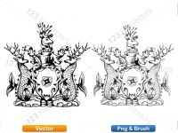 5012010-hand-drawn-sketch-heraldic-coat-of-arms-vector-and-brush-pack-01_p017