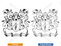 5012010-hand-drawn-sketch-heraldic-coat-of-arms-vector-and-brush-pack-01_p023