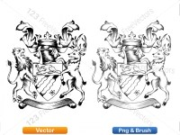 5012011-hand-drawn-sketch-heraldic-coat-of-arms-vector-and-brush-pack-02_p001