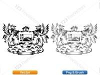 5012011-hand-drawn-sketch-heraldic-coat-of-arms-vector-and-brush-pack-02_p007