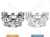 5012011-hand-drawn-sketch-heraldic-coat-of-arms-vector-and-brush-pack-02_p007
