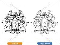 5012011-hand-drawn-sketch-heraldic-coat-of-arms-vector-and-brush-pack-02_p024
