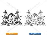 5012012-hand-drawn-sketch-heraldic-coat-of-arms-vector-and-brush-pack-03_p002