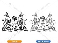 5012012-hand-drawn-sketch-heraldic-coat-of-arms-vector-and-brush-pack-03_p002