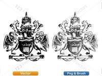 5012012-hand-drawn-sketch-heraldic-coat-of-arms-vector-and-brush-pack-03_p011