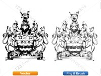 5012012-hand-drawn-sketch-heraldic-coat-of-arms-vector-and-brush-pack-03_p013