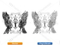 5012012-hand-drawn-sketch-heraldic-coat-of-arms-vector-and-brush-pack-03_p014