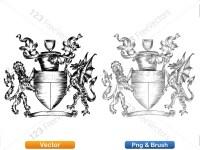 5012012-hand-drawn-sketch-heraldic-coat-of-arms-vector-and-brush-pack-03_p023