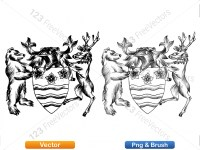 5012013-hand-drawn-sketch-heraldic-coat-of-arms-vector-and-brush-pack-04_p010