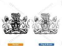 5012013-hand-drawn-sketch-heraldic-coat-of-arms-vector-and-brush-pack-04_p011