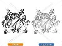 5012013-hand-drawn-sketch-heraldic-coat-of-arms-vector-and-brush-pack-04_p014