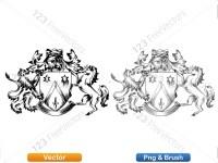 5012013-hand-drawn-sketch-heraldic-coat-of-arms-vector-and-brush-pack-04_p017