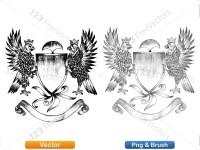 5012013-hand-drawn-sketch-heraldic-coat-of-arms-vector-and-brush-pack-04_p023