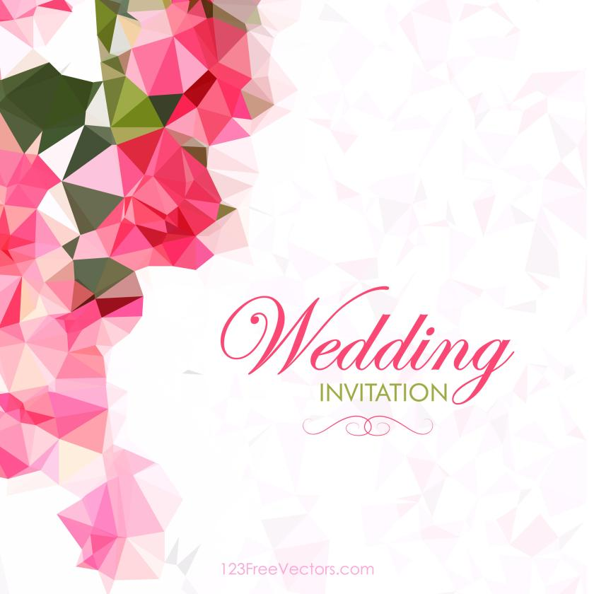 Wedding Invitation Pack Free Vector Preview