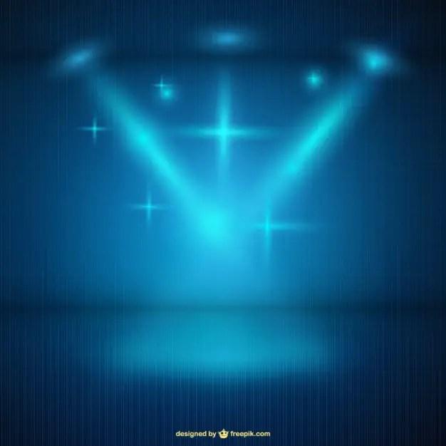 Spotlight Background Free Vector