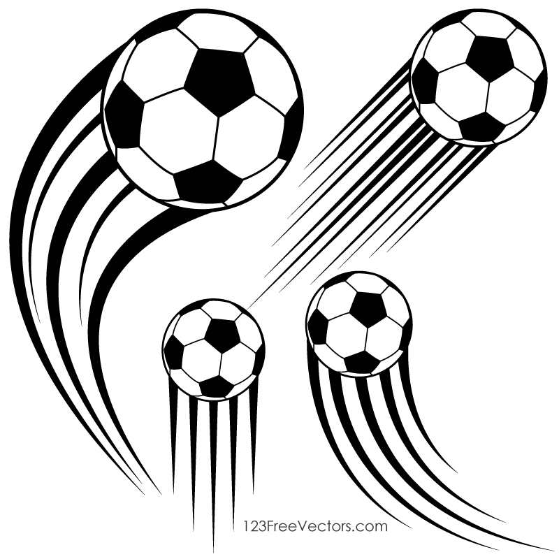 soccer ball in motion clipart 123freevectors rh 123freevectors com motion clipart free motion clipart for powerpoint