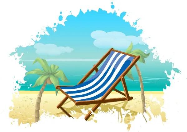 free summer beach vector background 123freevectors rh 123freevectors com summer vector free icons summer vector art