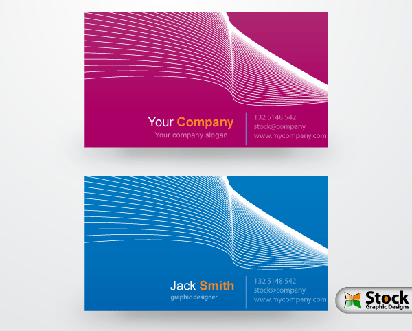 Corporate business card vector 123freevectors corporate business card vector reheart Gallery