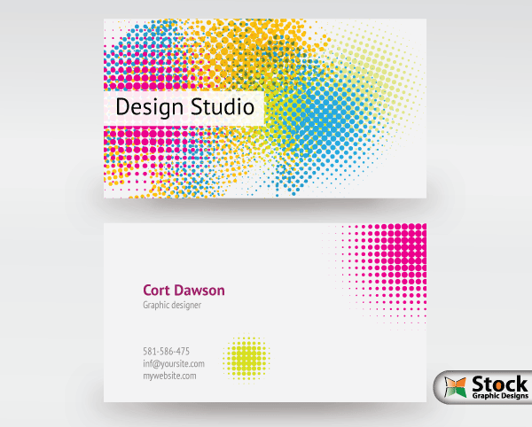 Designer business card vector 123freevectors designer business card vector reheart Image collections