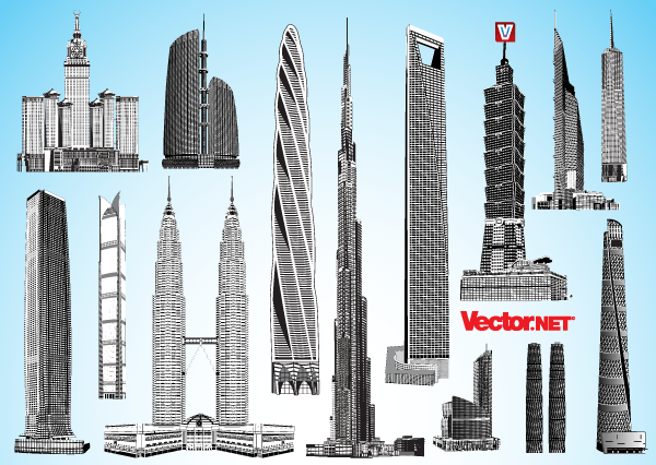 free skyscraper vector 123freevectors rh 123freevectors com skyscraper line vector isometric skyscraper vector
