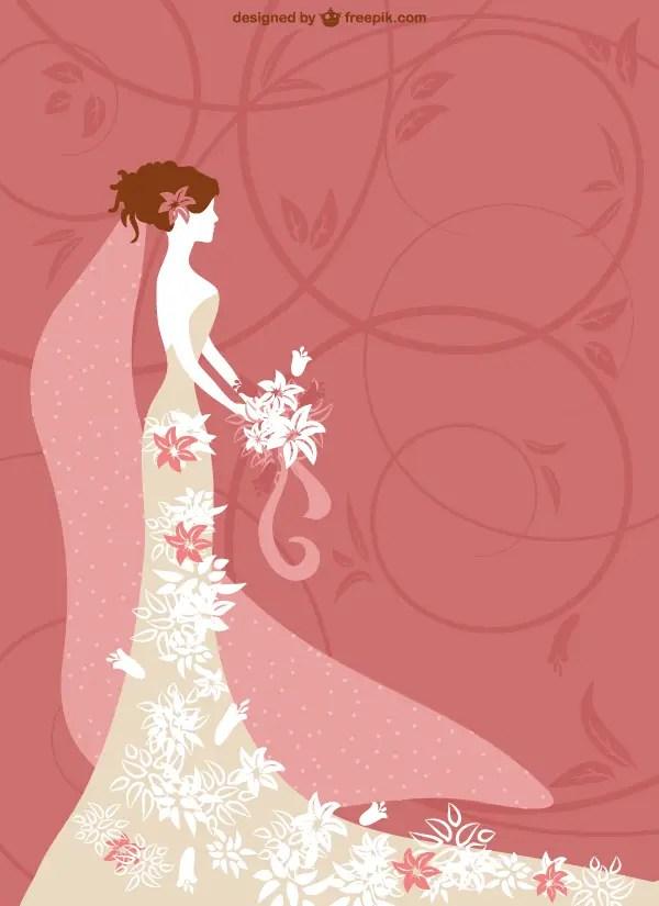 Bridal Shower Invitation Card Template | 123Freevectors