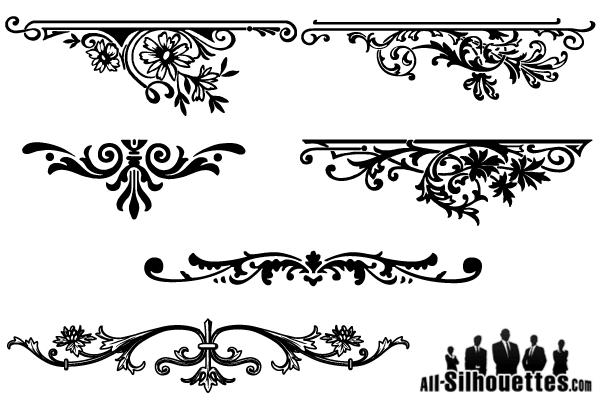 Floral Ornament Vector Free: Vector Floral Ornaments Graphic Design