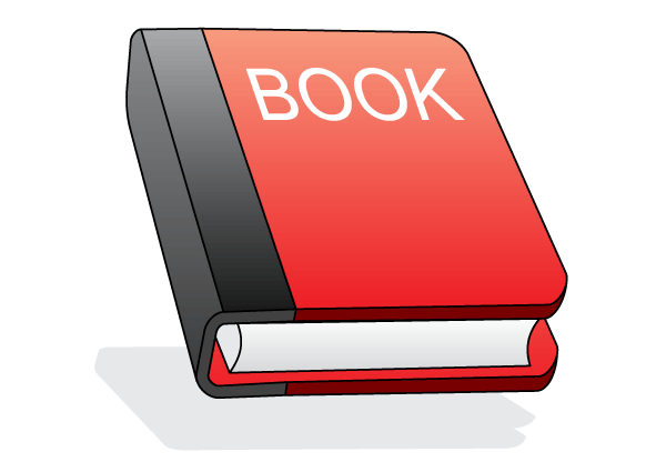 Red Book Icon Free Vector Illustration 123Freevectors