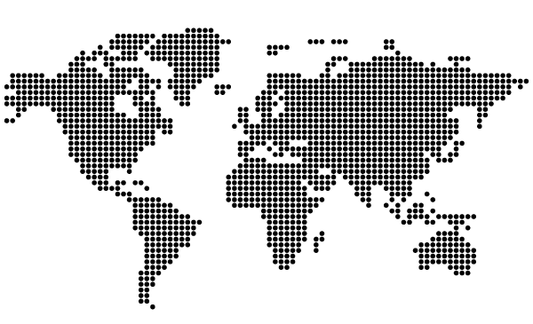 Free dotted world map vector 123freevectors free dotted world map vector gumiabroncs Image collections