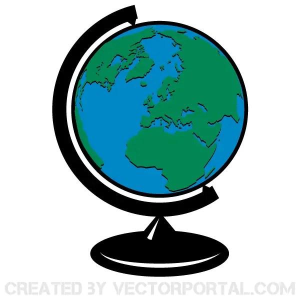 earth globe vector clip art 123freevectors rh 123freevectors com images globe clipart clip art globe black and white