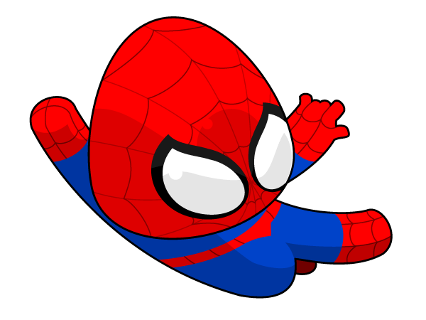Spiderman vector 123freevectors spiderman vector stopboris Gallery