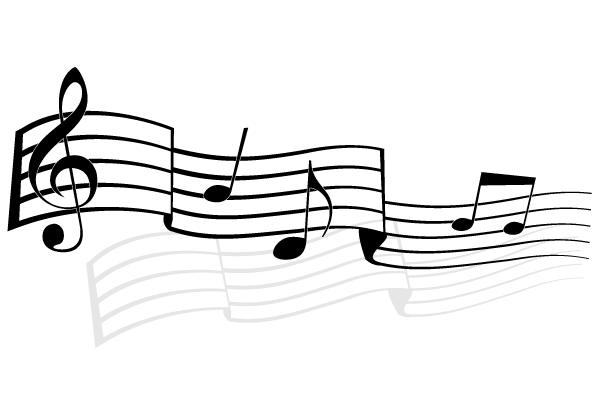 music notes vector image free 123freevectors rh 123freevectors com music notes vector free music notes vector art