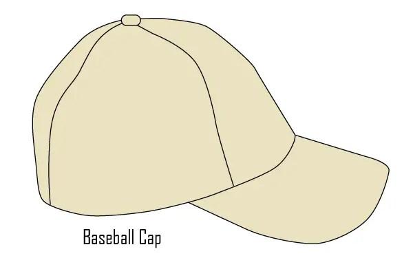 Baseball Cap Template Vector Free   123Freevectors