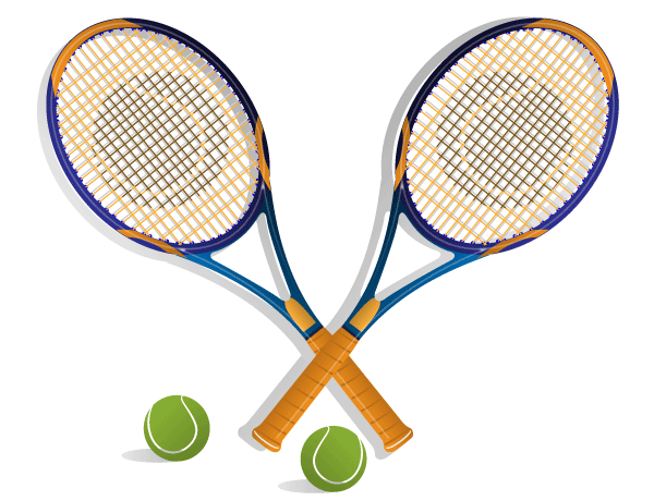 tennis racket vector 123freevectors rh 123freevectors com Funny Tennis Clip Art Tennis Silhouette Clip Art