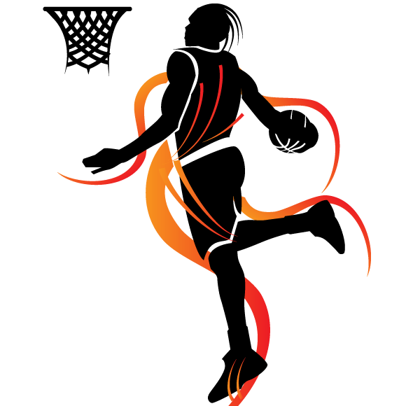 Slam Dunk Basketball Vector