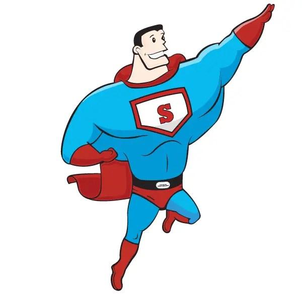 free superhero vector art 123freevectors rh 123freevectors com superhero vector clipart super hero vector free