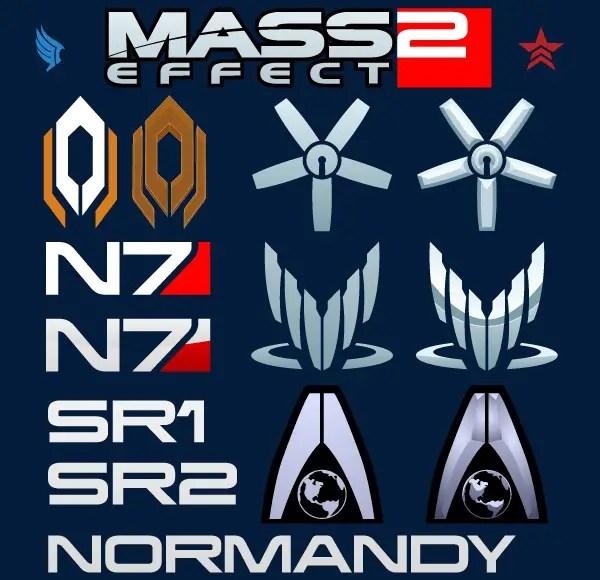 Mass Effect Logo Vector Free