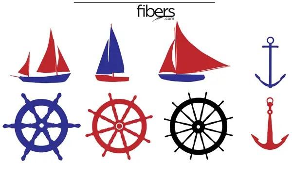 free nautical vector pack 123freevectors rh 123freevectors com free nautical clip art sayings free nautical clip art borders