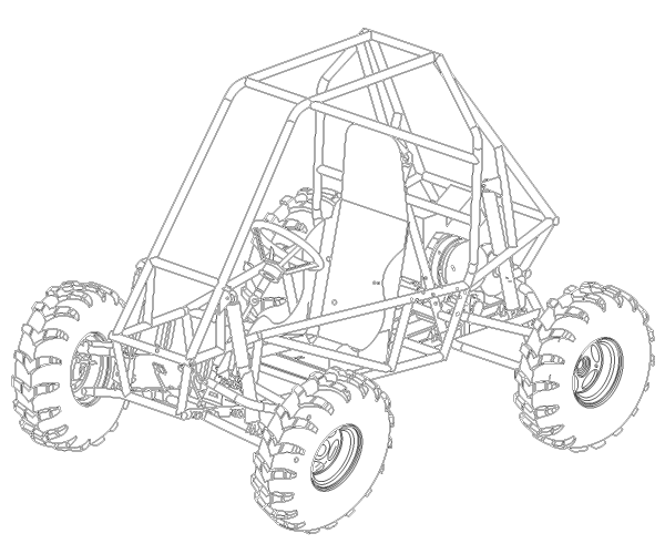 Dune Buggy Vector Image | 123Freevectors