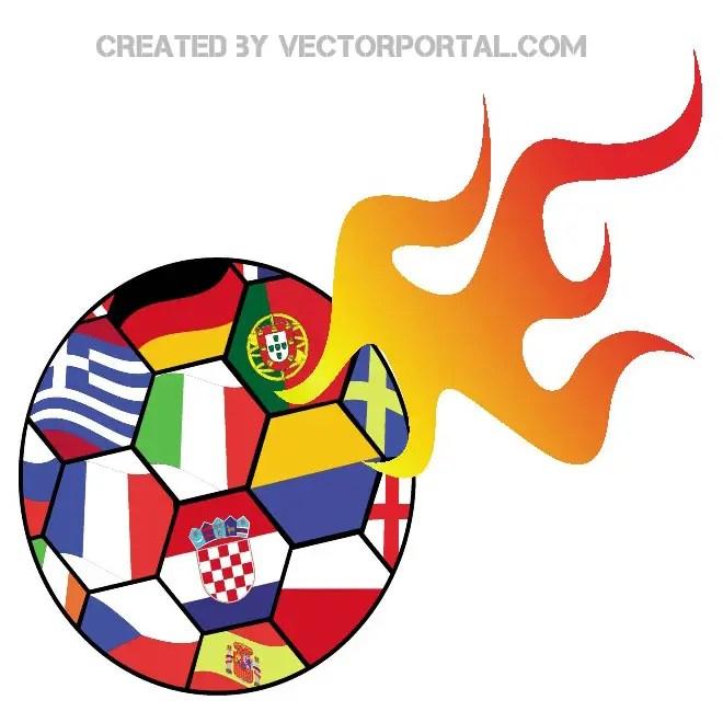 Euro Soccer 2012 Clip Art Free Vector | 123Freevectors